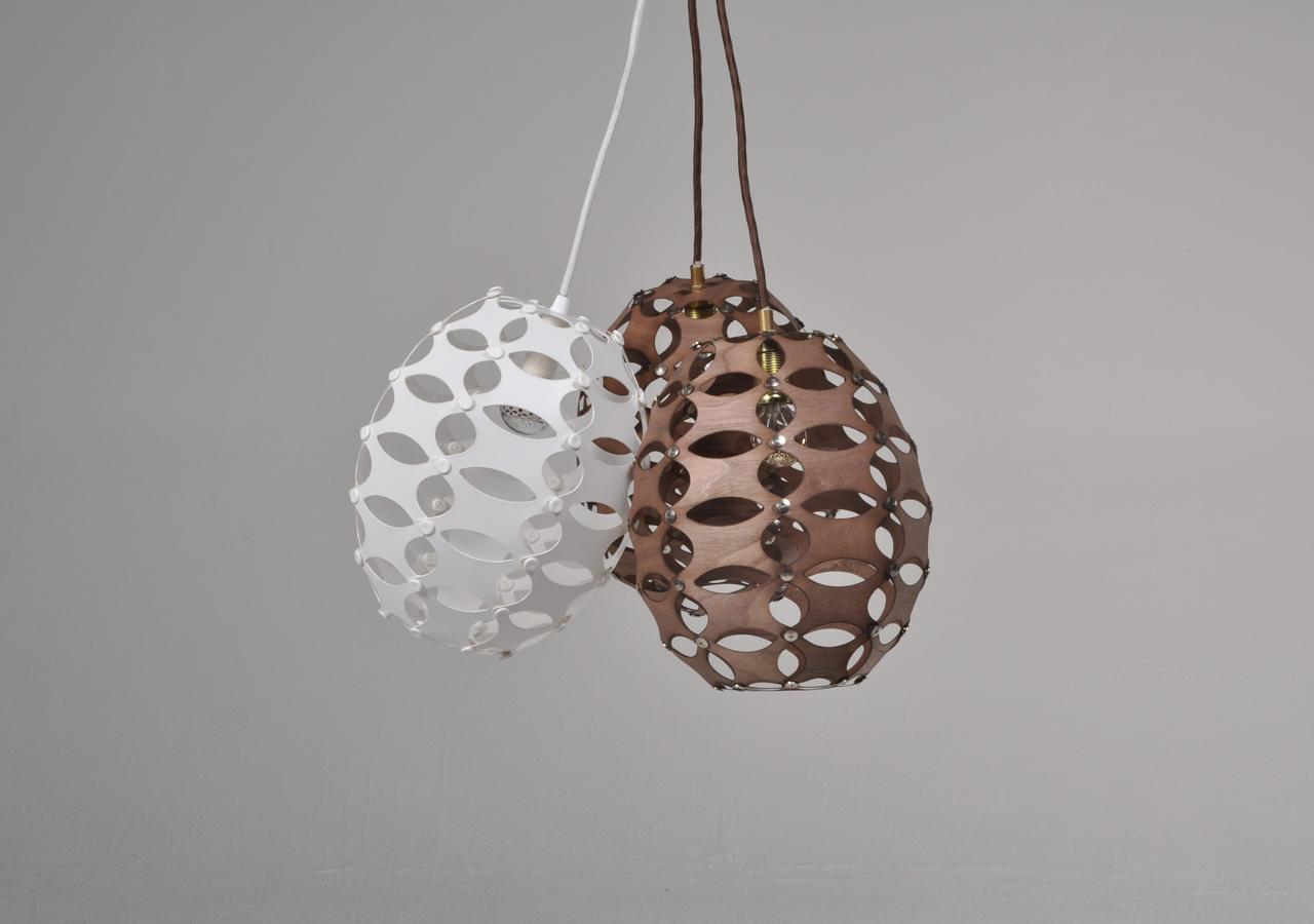 X-Teile Lampe